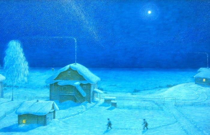 Winter night (Girls in Banya)