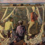 Paintings by Soviet Azerbaijan artists