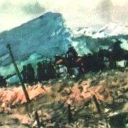 In the Carpathians. Oil. 1945