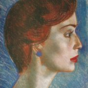 Manana Shengelaya. 1963. Paper, pastel
