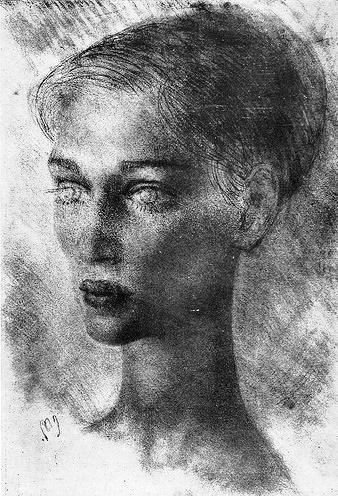 Marine Kartsivadze. 1964. Paper, pencil
