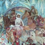 Paintings by Soviet Azerbaijan artists