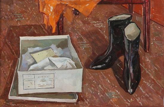 Soviet artist Valentina Mikhaylovna Avdysheva (March 29, 1931 - December 27, 1975)