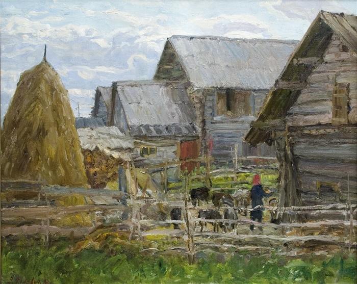 North Village. 1983