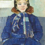 Portrait of daughter