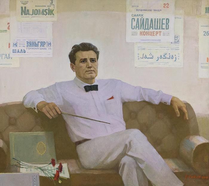 Salikh Saidashev's portrait