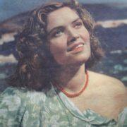 1956 film 'Malva'. USSR (Soviet screen 7-1957)