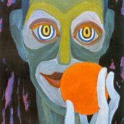 A clown. 1960s
