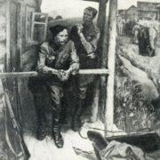 A. Fedoseev. VI Chapaev. Canvas, oil. 1985