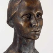 A.I. Chernopyatov. Portrait of actress Rimma Asfandiyarova (1938-2007). 1979. Tomsk art museum