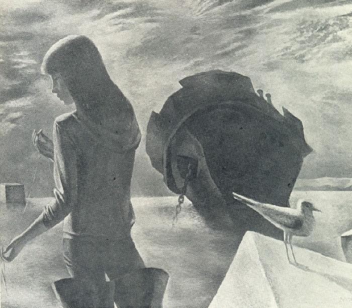 A.N. Lopatnikov. The old barge. 1979