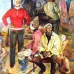 Soviet artists Tkachev Brothers