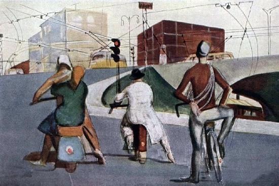 Soviet graphic artist Vitaly Goryaev