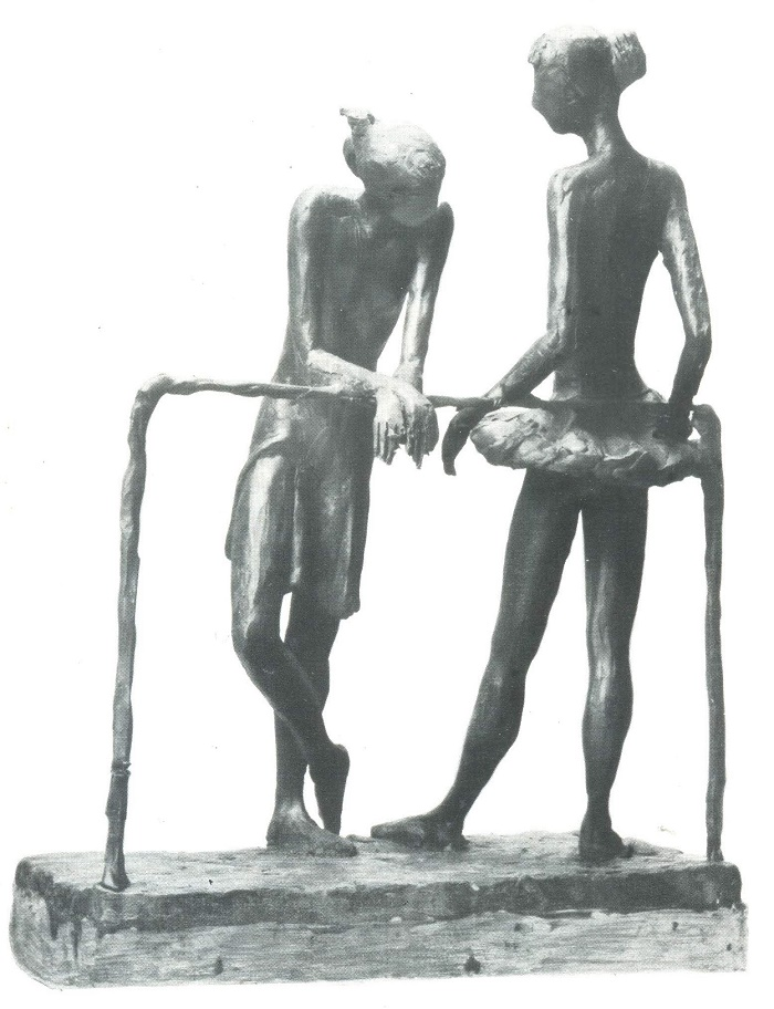 B. Batakov. Ballet School. Plasticine. 1984