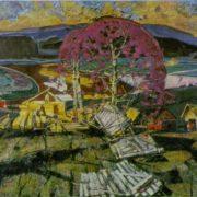 B.V. Arakcheyev. Spring winds. 1968