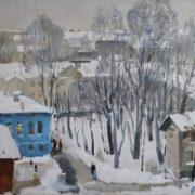 Boris Zaozersky (1934-2002). Dusk
