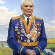 Cosmonaut Andrian Nikolayev. 1995