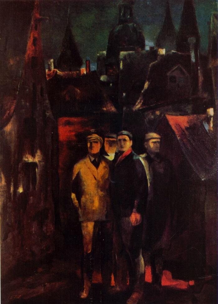 D. Panichev. Komsomol of 1943 (Imant Sudmalis)