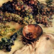E.L. Sizikova. Crimean grapes. 1978