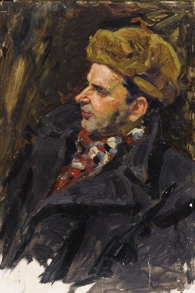 Evgeny Smirnov (1926) Portrait of Abdullayev. 1955