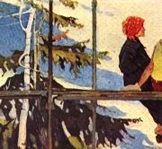 G. Bogdanov. Angara swallows. Exhibition 'Soviet Russia'