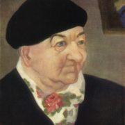 G.A. Zeile. Portrait of the artist K. Urban. 1978