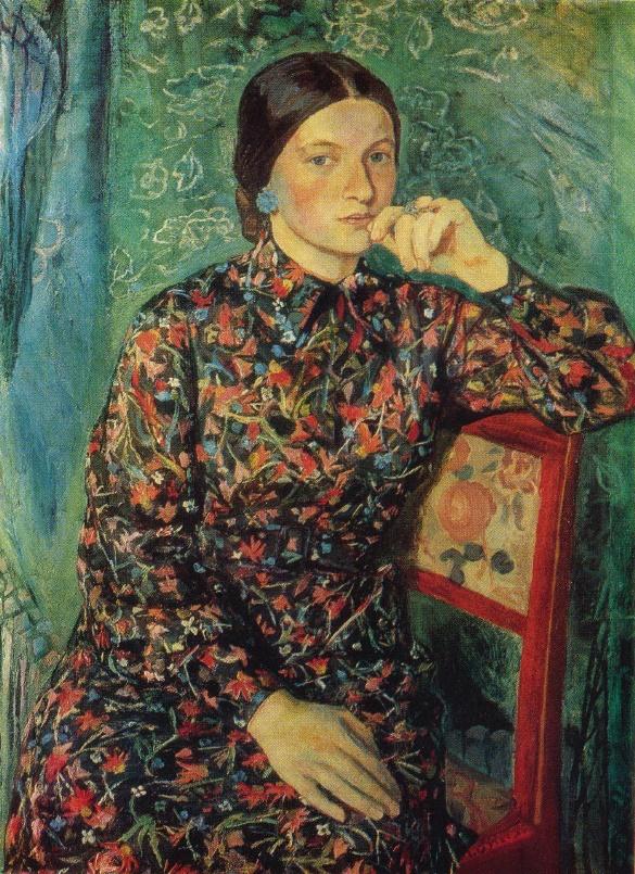 G.V. Sinyak. Self-portrait. 1972