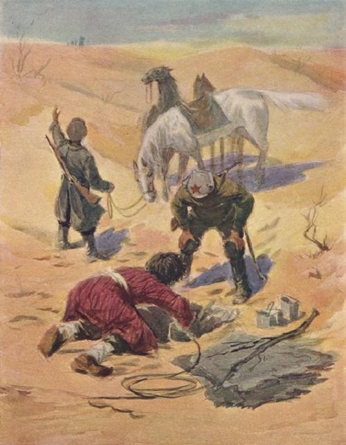 Georgy Koloyarov. (1922, Turkmenistan). Water. 1950