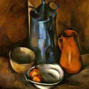 German Fyodorov (1885-1976). Still life. 1919