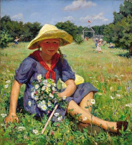 Soviet artist Gleb Ivanovich Barabanshchikov