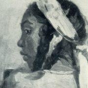 I. Cherinko. Portrait of Kumysh. 1945