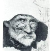 I.I. Izhakevich. Self-portrait. Oil, pencil. 1927