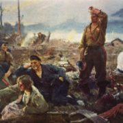 I.S. Kabanov. Builders on Komsomolsk-on-the-Amur