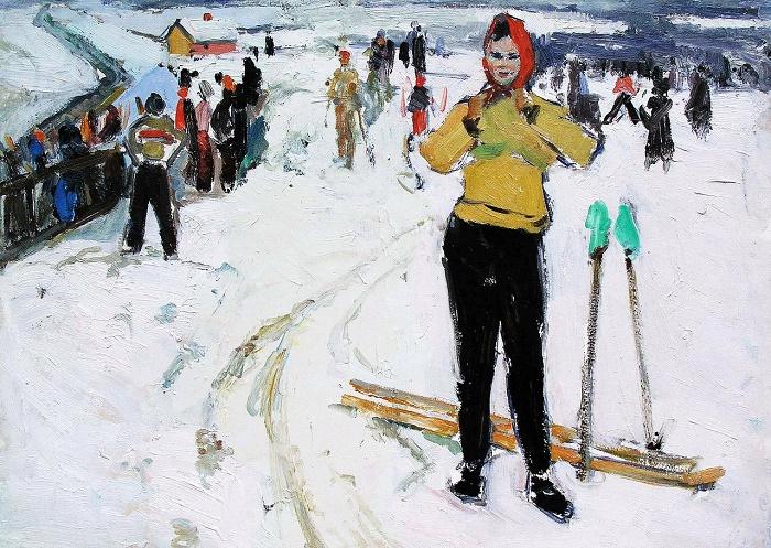 Ivan Kabysh (1926). Day off. 1958
