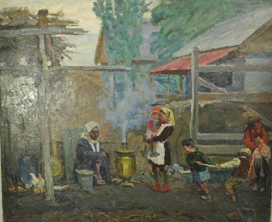 Soviet artist Vasily Akimovich Arlashin 1923-1998