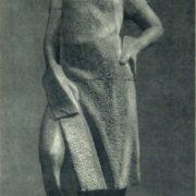 L.L. Kremneva. The builder. 1958. Granite