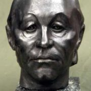 M. V. Prokofieva. Portrait of artist N. Ovchinnikov. 1980. Tomsk art museum
