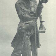 M.V. Tsvetkov. Academician A.V. Kirsanov. 1978