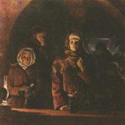 N. Tsytsyn. Blocade bread. Oil. 1987