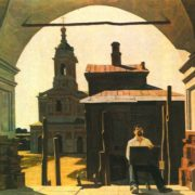 N. Zudov. In the old city. Oil. 1983