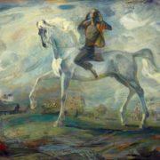 News. Artist V.V. Pavlov. 1985. Tomsk Art museum
