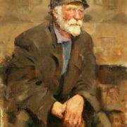 Old man's portrait. 1954