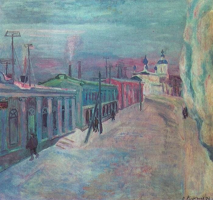 Oleg Vukolov (1933). Torzhok. 1974