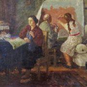 On the Komsomol voucher. 1960