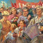 Soviet artist Pavel Mironovich Zaron 1915-1991