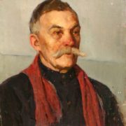 Portrait of a man with a mustache, 1956