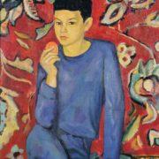 Portrait of a son. 1967. Oil, canvas