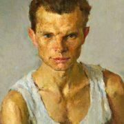 Portrait of a sportsman, 1956