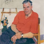 Portrait of artist P. Vasiliev. 1961