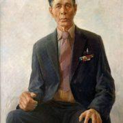 Portrait of the Defender of Leningrad V.P. Koledov, 1985